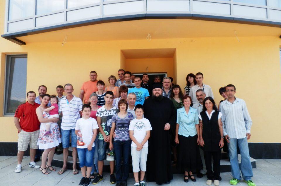 Посещение на игумен Троянски манастир