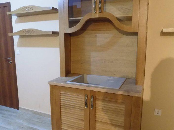 Трапезен шкаф с мивка