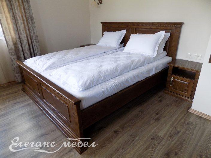 Спален комплект изработен от масив