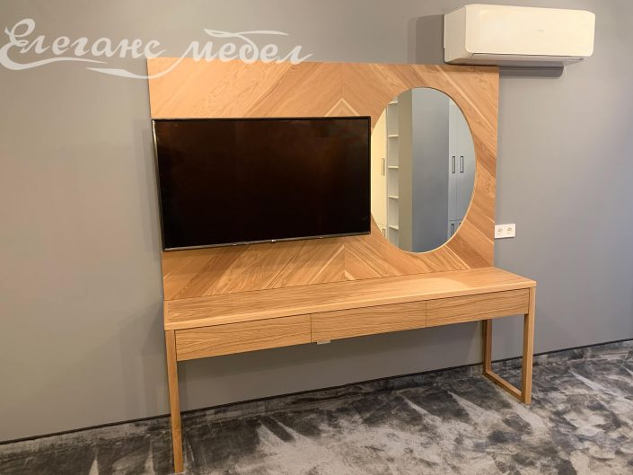 ТВ шкаф хотелско обзавеждане