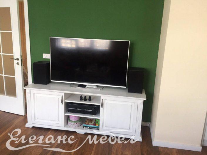 TV шкаф от масив